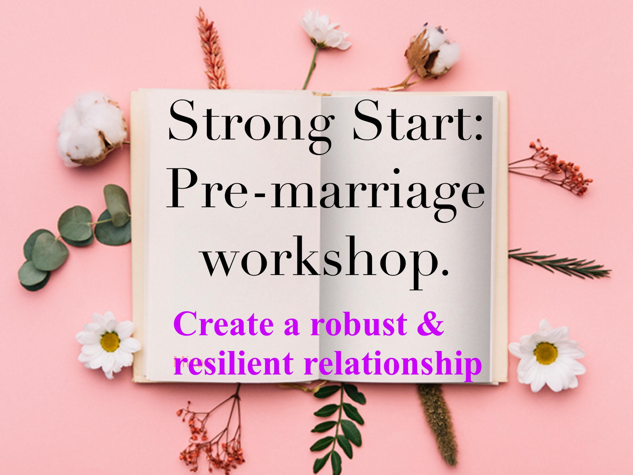 Pre marital counselling